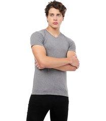 camiseta gris jaspe oscuro manpotsherd t-shirt
