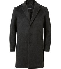rock onsiker melange wool coat