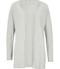 cardigan leggero in cotone con spacchi (grigio) - bpc bonprix collection