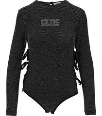 gcds glitter bodysuit