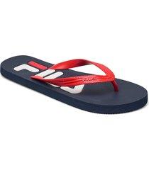 troy slipper shoes summer shoes blå fila
