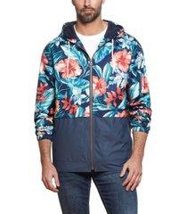 men's floral printed jacket
