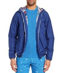brooklyn brigade men's slim-fit water repellent stormy night windbreaker jacket