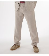 oliver spencer evering drawstring trousers - stone osmt48a