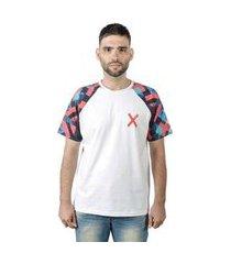 camiseta mxc brasil x raglan masculina