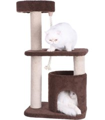 armarkat 3-tier carpeted cat tree condo, kitten activity tree