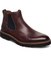 garun stövletter chelsea boot brun lloyd
