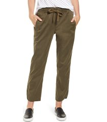women's caslon sandwashed pull-on pants