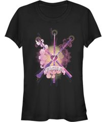fifth sun harry potter deathly hallow wands until the very end women's short sleeve t-shirt