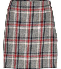 jade mini skirt korte rok grijs tommy hilfiger