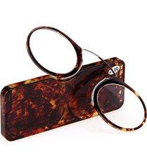 occhiali ultra-leggeri da lettura a mini tappanaso di stile portabile e semplice