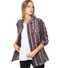 chaqueta multicolor valdivia