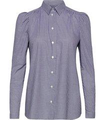 anna overhemd met lange mouwen blauw britt sisseck