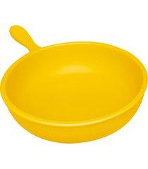 frigideira de cerâmica 1,5l solaris amarelo oxford cookware