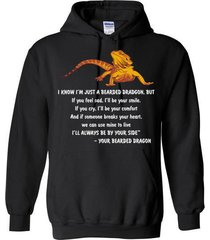 i know i'm just a bearded dragon - your bearded dragon blend hoodie