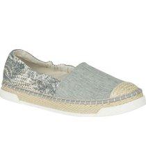 alpargata laurel reef gris sperry