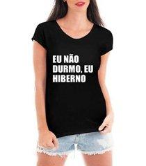 blusa criativa urbana eu hiberno t-shirt feminina