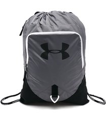 tula gris-negra-blanco under armour undeniable sackpack