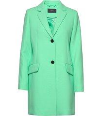 coats woven blazer colbert groen esprit collection
