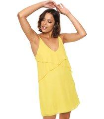 vestido amarillo design plus maia