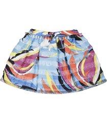 emilio pucci multicolor teen skirt