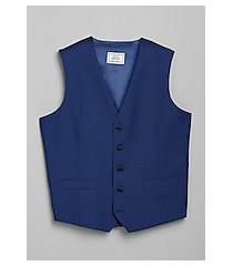 1905 navy tailored fit men's suit separate vest by jos. a. bank