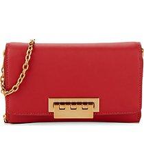 eartha leather chain wallet