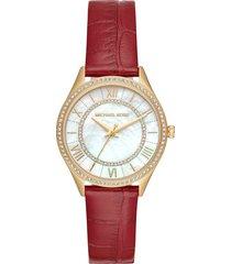 reloj michael kors para mujer - mini lauryn  mk2756