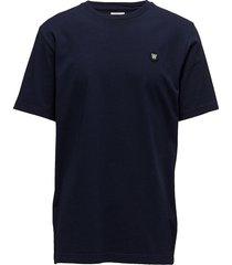 ace t-shirt t-shirts short-sleeved blå wood wood