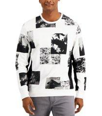 inc men's landscape sweatshirt, created for macy's
