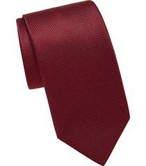 houndstooth silk tie