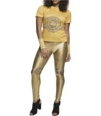 buyseason women's star wars c-3po rhinestone t-shirt costume