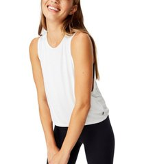 cotton on cropped keyhole washed tank top