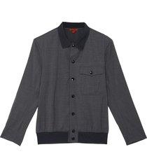 'batilana tela' button front bomber jacket