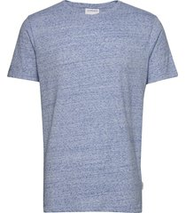 neps structure tee s/s t-shirts short-sleeved blå lindbergh
