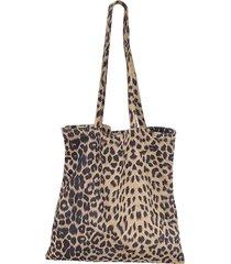 leopard canvas borsa designer handbag shoulder borsa per le donne