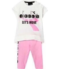 diadora lets move pants and t-shirt set
