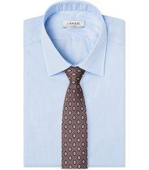 cravatta su misura, lanieri, business grigio, quattro stagioni | lanieri