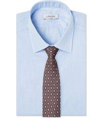 cravatta su misura, lanieri, business grigio, quattro stagioni