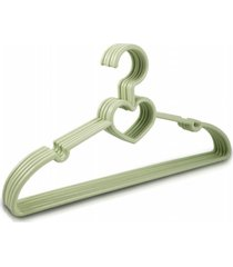 cabide com 5 peças - bebê jacki design lifestyle verde