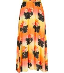 amir slama printed long skirt - multicolour