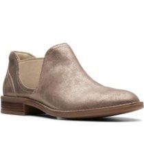 clarks collection women's camzin maple booties women's shoes