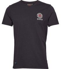brando tee t-shirts short-sleeved blå morris