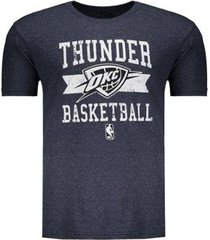 camiseta nba oklahoma city thunder destroyed masculina