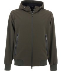 sweater rrd - roberto ricci designs thermo bonded hood w20046
