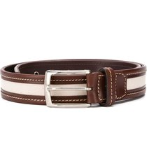 gianfranco ferré pre-owned 1990 two-tone belt - brown