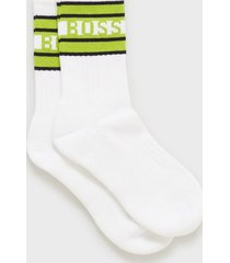 boss qs rib stripe cc strumpor natural