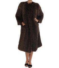 raccoon fur jas jacket