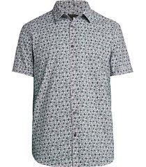 floral short-sleeve shirt