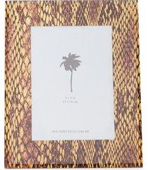 porta retrato 5x7 - animal print